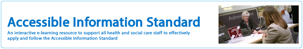 Accessible Information Standard