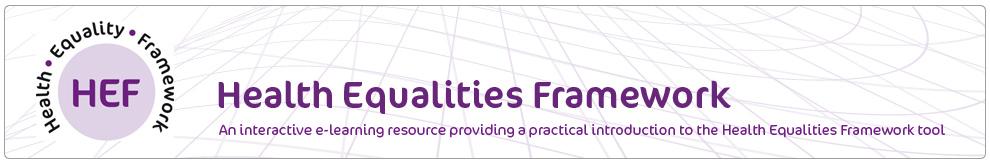 Health Equalities Framework (HEF)