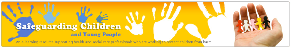 Safeguarding Children and Young People (SGC) - Banner