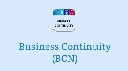 Business Continuity (BCN)