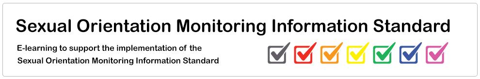 Sexual Orientation Monitoring Information Standard_Banner