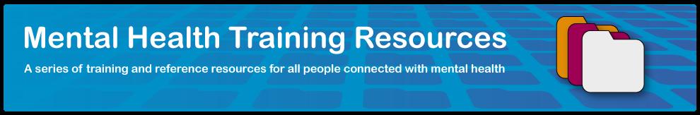 Mental Health Training Directories Banner