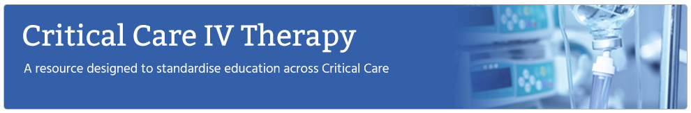 Critical Care Intravenous Therapy